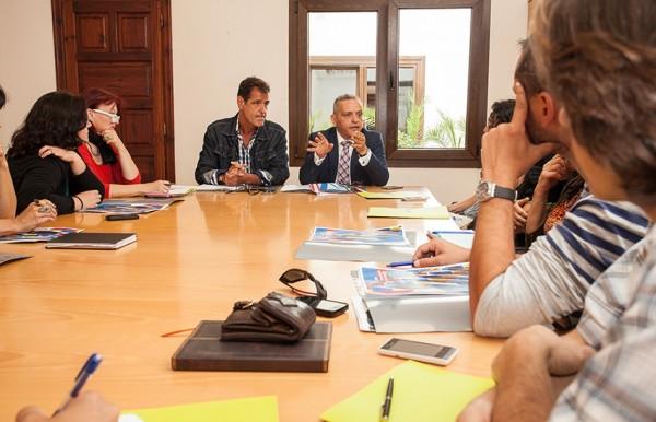 Reunión de empresarios  del MOMA de Madrid/Foto: Tony Cuadrado/ACAN