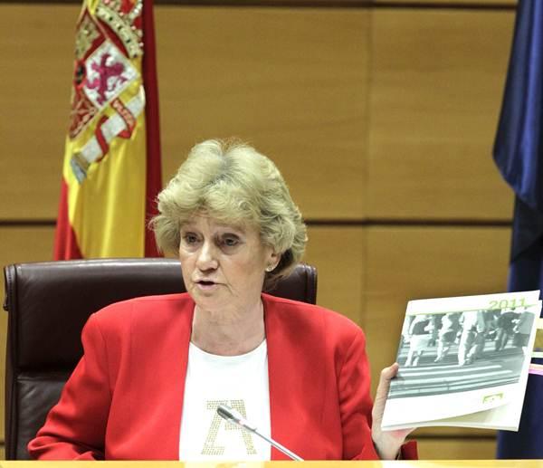 La Defensora del Pueblo, Soledad Becerril, ha sido la principal impulsora de este exhaustivo informe. / DA