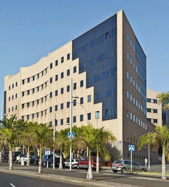 Palacio de Justicia de Santa Cruz de Tenerife, sede de la Audiencia provincial. / DA