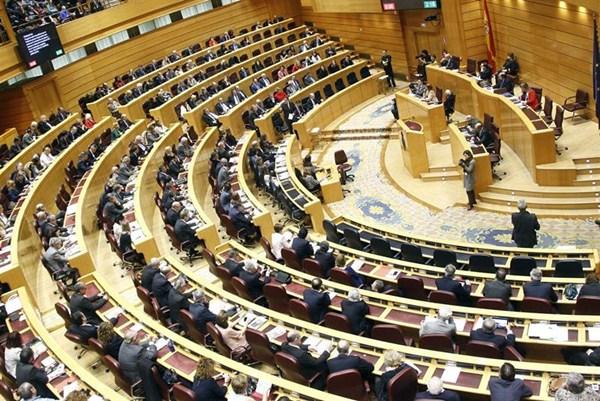 Sesión plenaria del Senado. / EP