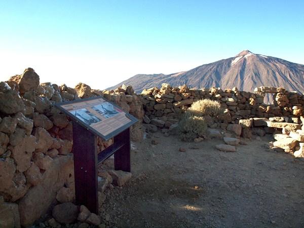 El primer observatorio estelar de alta montaña se instaló en Guajara en 1856. / DA