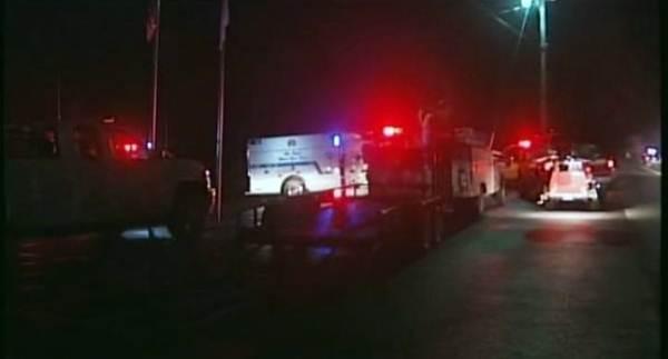 Equipos de emergencias en el lugar del accidente. | AGENCIAS