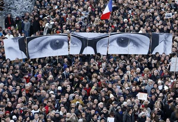 Manifestación en Francia.  /  REUTERS