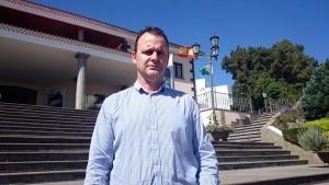 "José Manuel Medina critica la ""prepotencia"" del alcalde de El Rosario. / DA"
