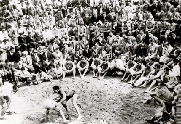 lucha canaria 1950-1960 FEDAC