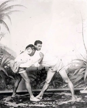 Lucha canaria 1900-1910