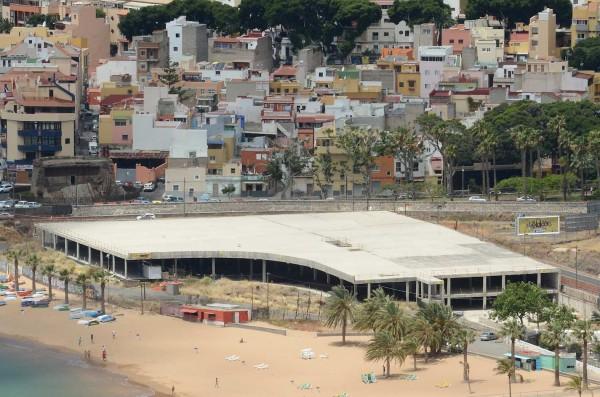 El mal llamado mamotreto en la actualidad; el propio alcalde, José Manuel Bermúdez, opta por su legalización. / DA