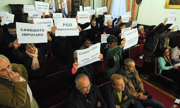 El Pleno rechaza una comisión de investigación del caso Corredor