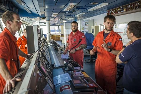 Trabajadores de Repsol en Canarias/ EP
