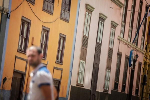 La mayoría de inmuebles se localiza en las inmediaciones de la calle de La Noria. / ANDRÉS GUTIÉRREZ