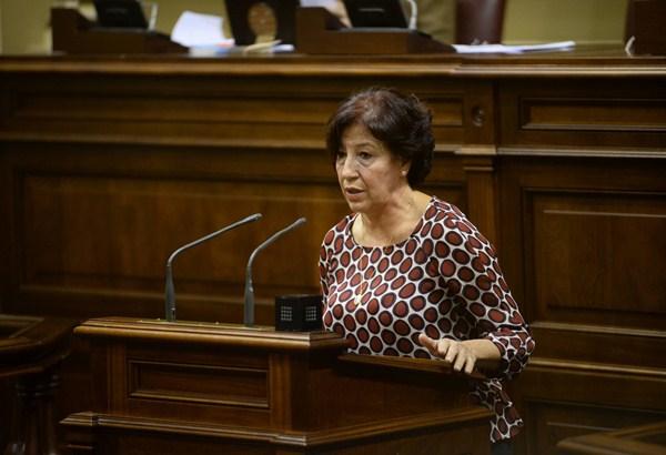 La consejera regional de Políticas Sociales, Inés Rojas. / DA