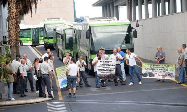 Trabajadores de TITSA se oponen a la construcción del tren del Sur