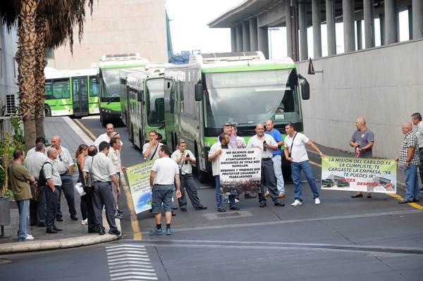 Trabajadores de titsa se oponen a la construcci n del tren del sur diario de avisos - Empresas de construccion en tenerife ...