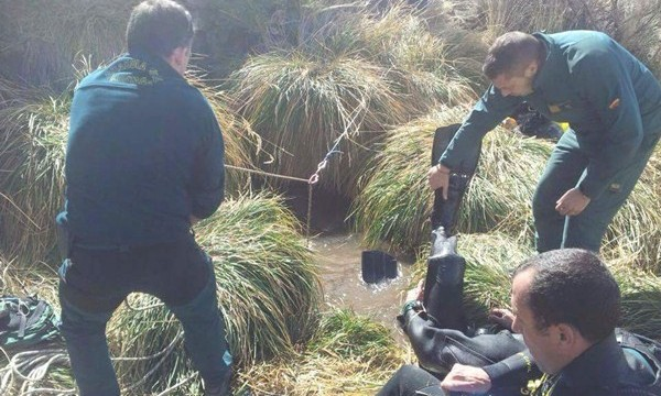 Buscan a Víctor Teni en un pozo del Valle de Ucanca a 2.100 metros