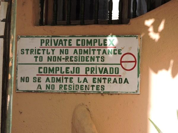 San Rafael es privado y la Policía no puede actuar en su interior. / N.C.