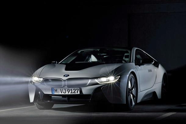 BMW i8 con faros BMW Laserlight