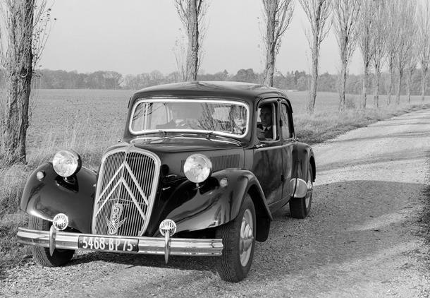 Citroën Traction Avant 15 SixD 1953
