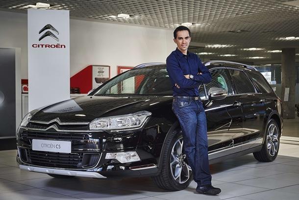 Citroën y Alberto Contador