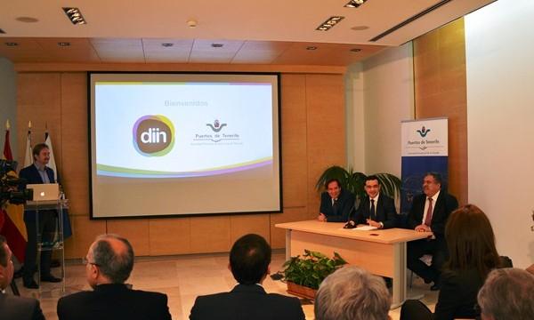 Puertos de Tenerife se integra en la plataforma interactiva Diin
