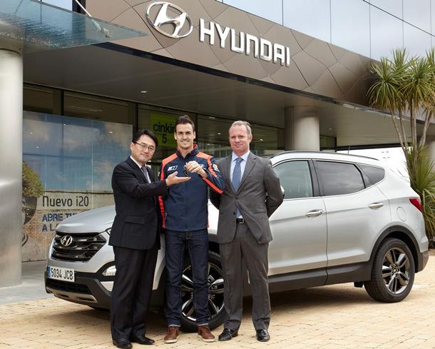 Dani Sordo Hyundai Santa Fe
