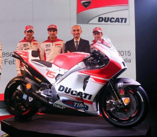 Ducati Desmosedici GP15,