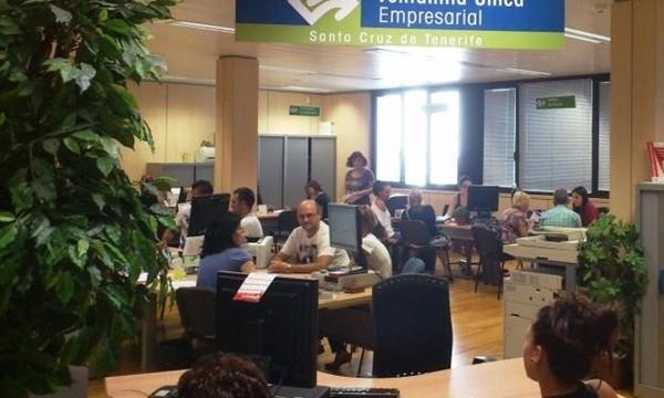 Canarias registró el año pasado cerca de 3.500 nuevas empresas