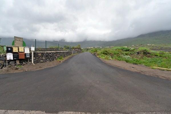 Imagen de una de las pistas en Frontera que será objeto de intervención para su mejora. / DA