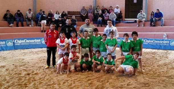 Escuelas de Lucha Canaria de La Orotava y Santa Ursula lucha escolar
