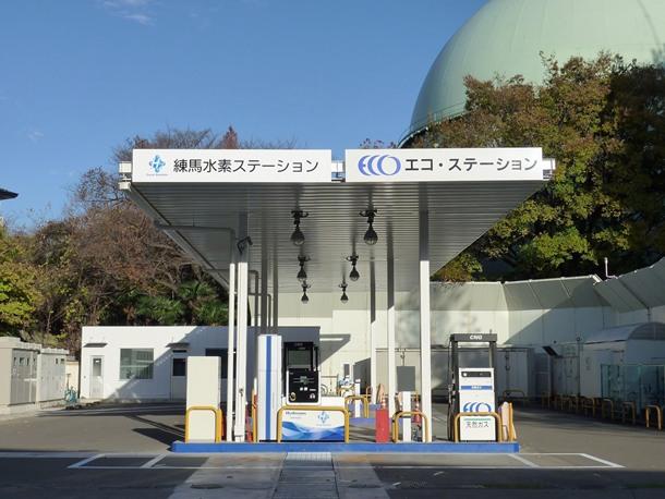 estaciones de hidrógeno