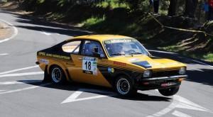 Gran Canaria Historic Rally 2014 OPEL KADET RODRIGUEZ-BARCIA
