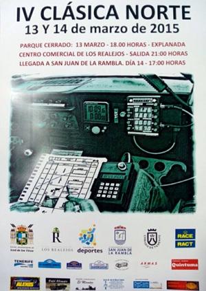 IV Clasica Norte cartel