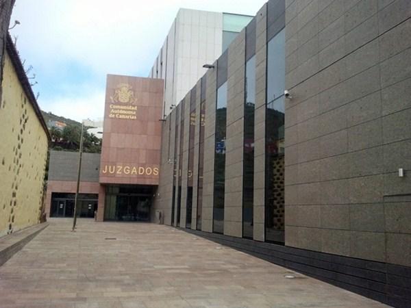 Juzgados de La Laguna, donde se instruye el caso Corredor. / DA