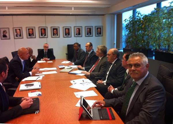 Jaime González Cejas participó en una reunión presidida por Markku Markkula, presidente del CDR. | DA