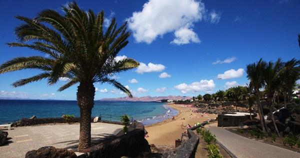 Imagen de una de las zonas turísticas de Puerto del Carmen. / DA