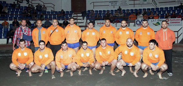 El Club de Luchas Aridane se proclamó brillante campeón de Segunda Categoría. / facebook aridane