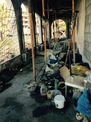 La Casa del Peña se encuentra en un estado ruinoso. | DA