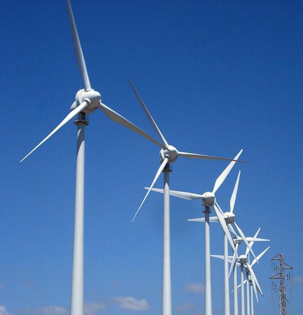 La instalación de parques eólicos, paralizada desde los años 90. / DA