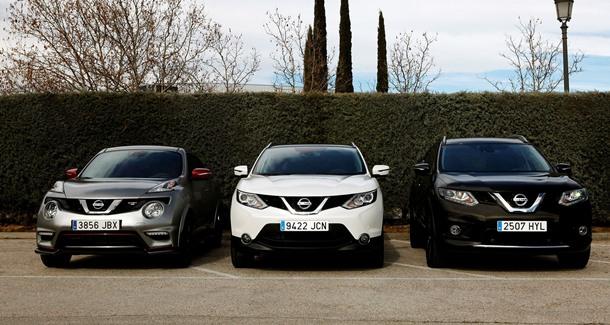 Nissan crossovers