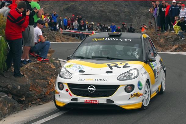 Opel Vallin Rally Islas Canarias El Corte Ingles