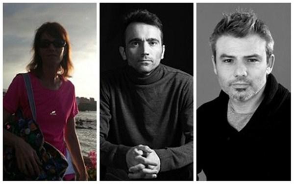 Tras retirarse María Eva Zamora (izq.), ahora quedan Carlos Cruz (centro) y David Hernández (der.). / DA