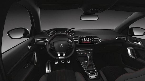 PEUGEOT 308 GT Line interior