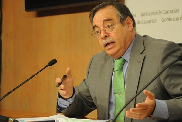 Domingo Berriel, consejero de Política Territorial del Gobierno de Canarias. / DA