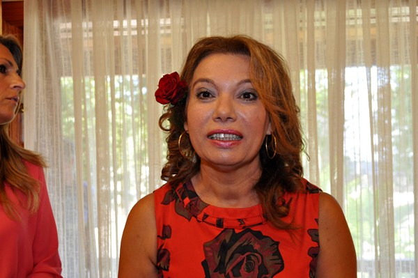 Barroso es la portavoz del PP. / M. P. P.