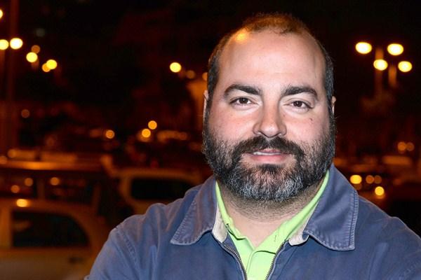 Sergio Puente, uno de los cuatro candidatos a la secretaría general de Podemos en Canarias. / SERGIO MÉNDEZ