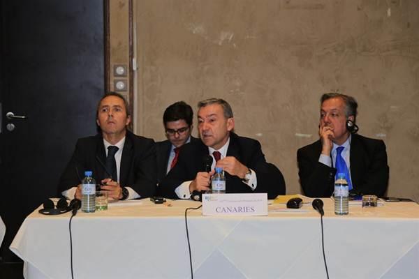Rivero en la XX Conferencia de Presidentes de las Regiones Ultraperiféricas. | EP
