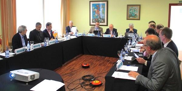 Eduardo Doménech presidió la reunión. / DA