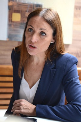 """""""Quiero convertirme en la primera alcaldesa de Santa Cruz en más de 500 años"""". / S.M."""