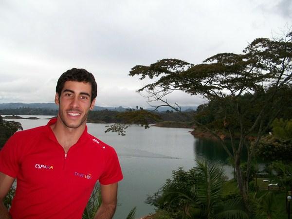 El triatleta lagunero estará en la primera parada del calendario internacional. / DA