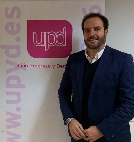 Pablo Adrián Aira, portavoz de UPyD en El Rosario. / DA