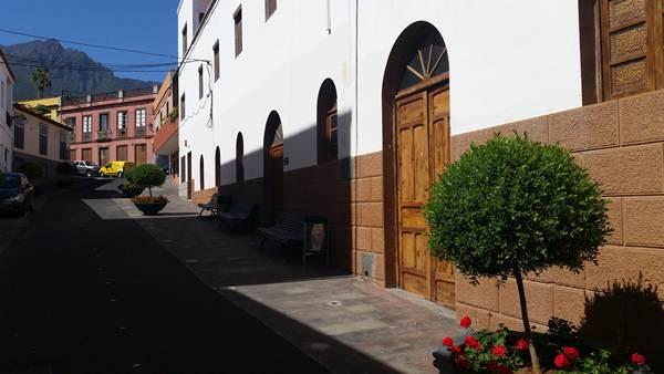 Velatorio parroquial de San Pedro, en Güímar. | DA